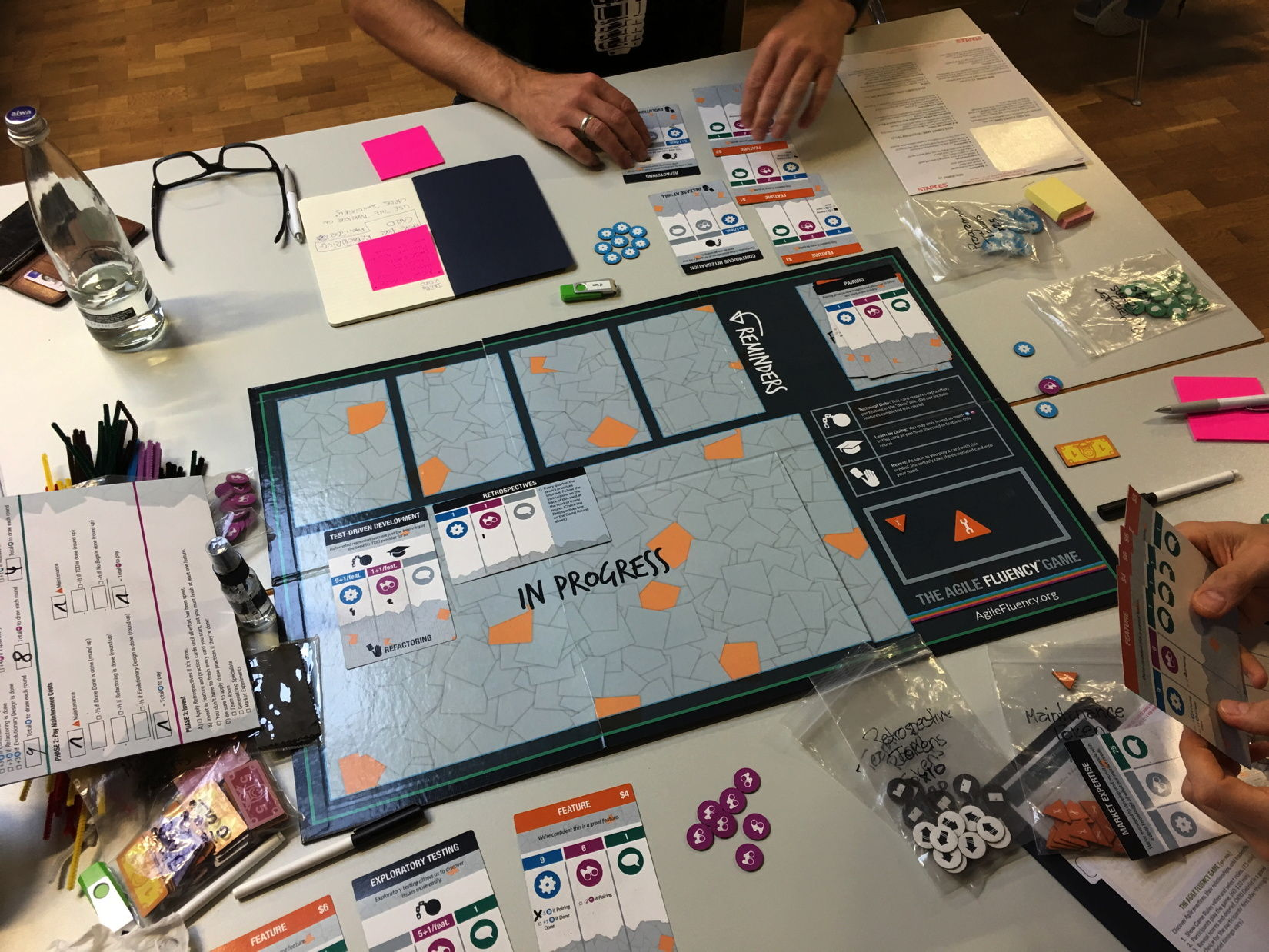Hands-on Agile Meetup #8: Agile Fluency Game ™ — Berlin Product People