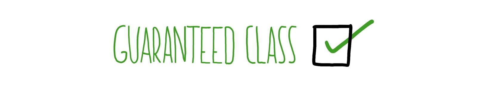 100 % — Guaranteed Class Garantierte Schulung